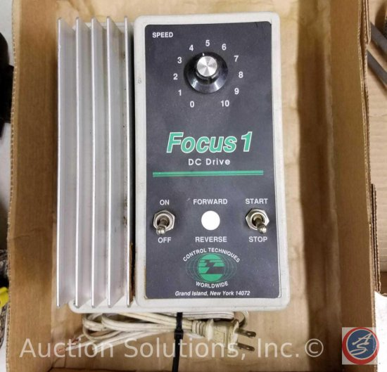 Focus 1 DC Drive Industrial Control Equipment 1/2-2 HP or 1/4-1 HP