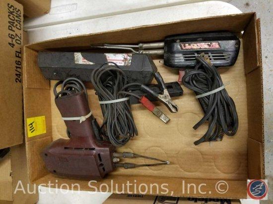 CP-7504 Timing Light; Craftsman 100 Soldering Gun; Weller Expert Soldering Gun Model #8200