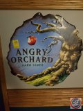 Angry Orchard metal wall sign