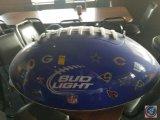 Bud Light plastic football sign