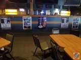 (5) paper posters- Miller Lite, Blue Moon and Brewsky's specials