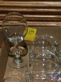 (10) white wine glasses