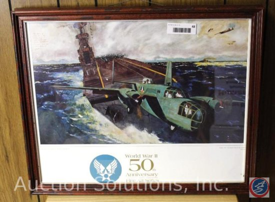 WWII Take Off! Doolittle Raid on Tokyo, Framed - 23 x 18.5''