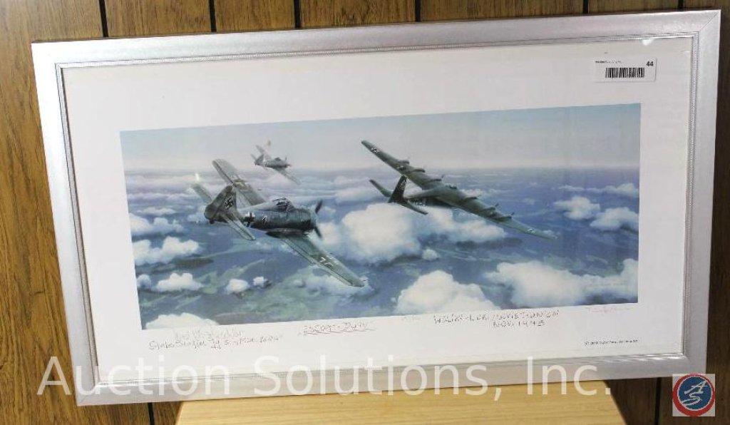 Professionally Framed, 'Escort Duty', marked Weliki-Luki Soviet Union, Nov 1943 No. 36 of 500 - 28.5