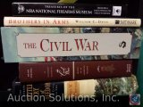 [5) History Books - The Illustrated Battle Cry of Freedom, An Illustrated History of the Civil War,