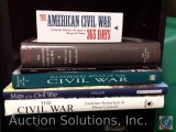 [6] History Books - The Civil War, Maps of the Civil War, Illustrated Atlas of the Civil War-The