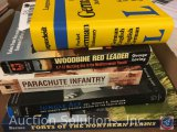 [5] History Books - Forts of the Northern Plains, Jungle Ace Col Gerald R. Johnson, Parachute
