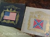 [2] Civil War Musical History Albums - 'The Union' 1865, and 'The Confederacy' 1861-1865 (Missing