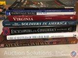 [8] Civil War Books - Atlas of The Civil War, Great Battles of the Civil War, Encyclopedia of the