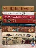 [8] Civil War Era Books- High Tide at Gettysburg, Jeb Stuart, Blackjack, Flags of Our Fathers, That