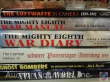 [6] Military Books - Atlas of the World; Ghost Bombers, The Moonlight War of NSG 9; The Combat