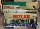 [8] Military Books - Aces Against Japan Vol. I and II; Der Russlandkrieg Fotografiert von Soldaten;