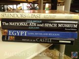 [4] History Books - Anatomy of the Castle; Egypt, Gods, Myths and Religion; National Air and Space