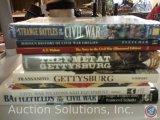 [7] Civil War History Books - Battlefields of the Civil War; Civil War Weapons and Equipment;