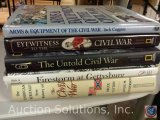 [5] Civil War History Books - Arms and Equipment of the Civil War; Eyewitness to the Civil War; The