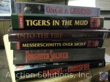 [6] Military History Books - Caught in the Crossfire; The Forgotten Soldier; Messerschmitts Over