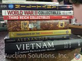 [8] History Books - Vietnam A Complete Photographic History, The Conqueror, Treasures of the