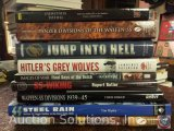 [9] History Books - Eyewitness to Hell, Panzer Divisions of the Waffen-SS, Jump into Hell, Hitler's