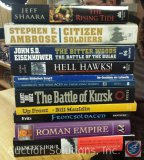 [11] Military/War Inspired Books - Danger's Hour, Roman Empire, Frontsoldaten, Up Front, The Battle