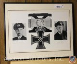 [2] WWII 'German Officers w/ Knights Cross' Picture, No. 53, Signed, Limited Edition 218/1000 -