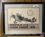 1938 Homenaje a la [Legion Condor] 1938, Framed - 21.75 x 17.75''