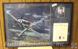 J-2 Stormovik-20, Professionally Framed and Signed by a WWII Luftwaffe Pilot - 37 x 25''