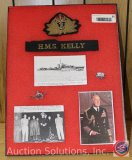H.M.S. Kelly Royal Navy Grouping