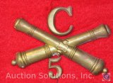 Civil War Artillery Insignia, (Possibly a Reproduction)