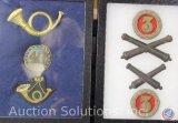 Civil War Infantry Cap, Badges and Artillery