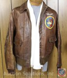 WWII A2 Leather Jacket Size 40 Army/Air Force
