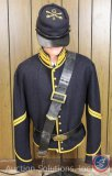 Civil War Army Corporal Tunic and Cap [Reproduction] and an Original Belt