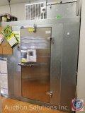 Norlake Freezer Model #NL708 (XWA11V) measuring 6 ft X 79 in X 44.5