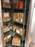 (2) four shelf NSF racks measuring 62.5 X 35 X 18 (SOLD TIMES THE MONEY)