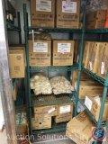 NSF shelving unit measuring 62.5 X 23.5 X 18 with four shelves