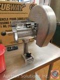 Nemco mounted slicer, Model #N55200AN