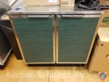 Green Duke two door cabinet Model #SUBP-36 M measuring 3 ft X 3 ft X 29.5
