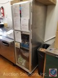 Lockwood enclosed two door cabinet/speed rack Model #CA72-RR18-S-R measuring 71 X 22 X 28.5