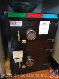 Corporate Safe Specialist floor safe with (2) compartments measuring 20 X 28 X 15. Combination is