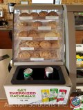 Cookie rack with drawers measuring 15.5 X 11.5 X 25