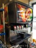 Cornelius (8) tap Coke machine, Model #ED250-BC with carbonater Item #41568