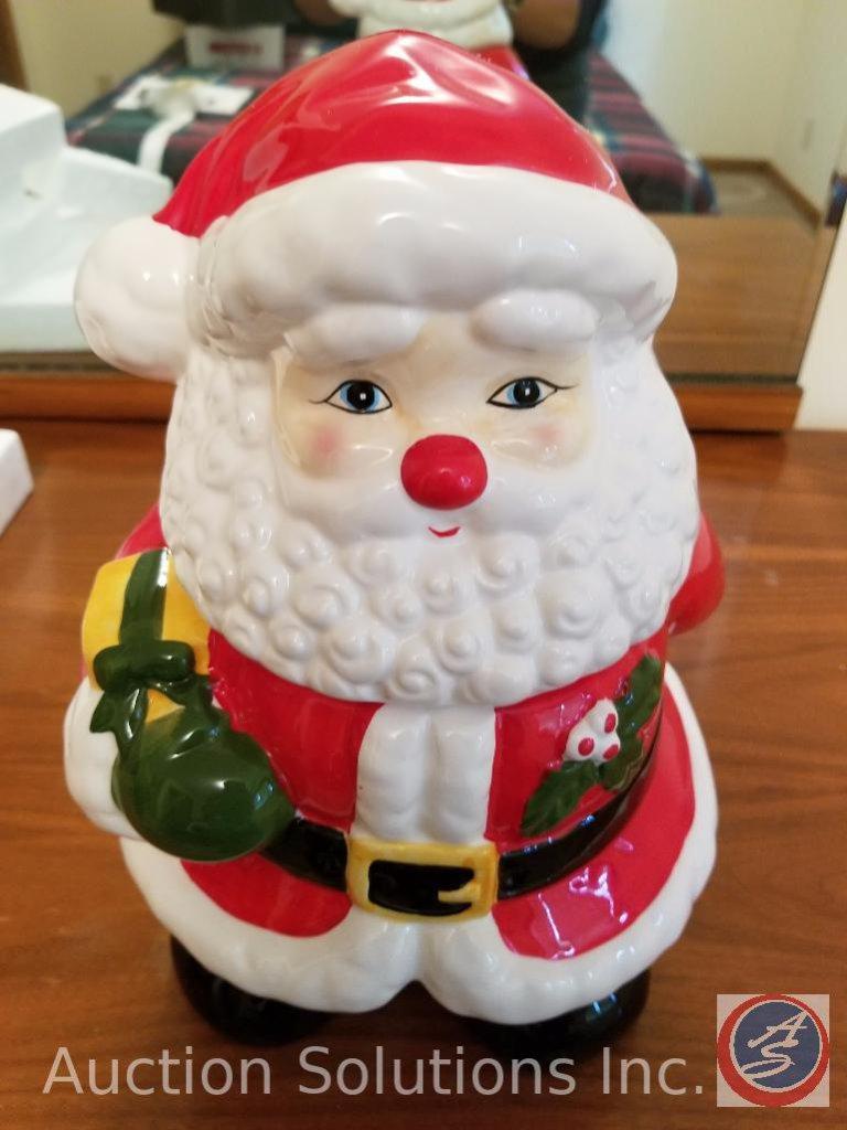 Ceramic Santa Claus Cookie Jar