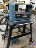 12?? Jet 2 HP Model #JWP-12 Planer on Stand w/ Vacuum Hose
