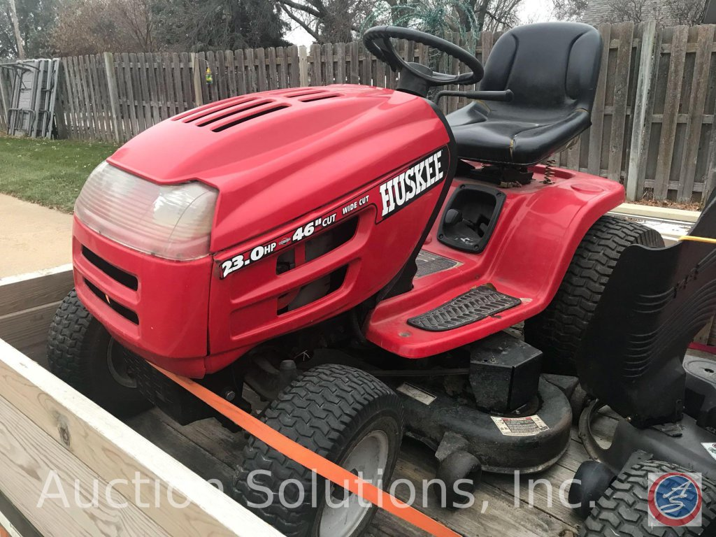 Huskee 23hp 46 In Cut Lawn Tractor