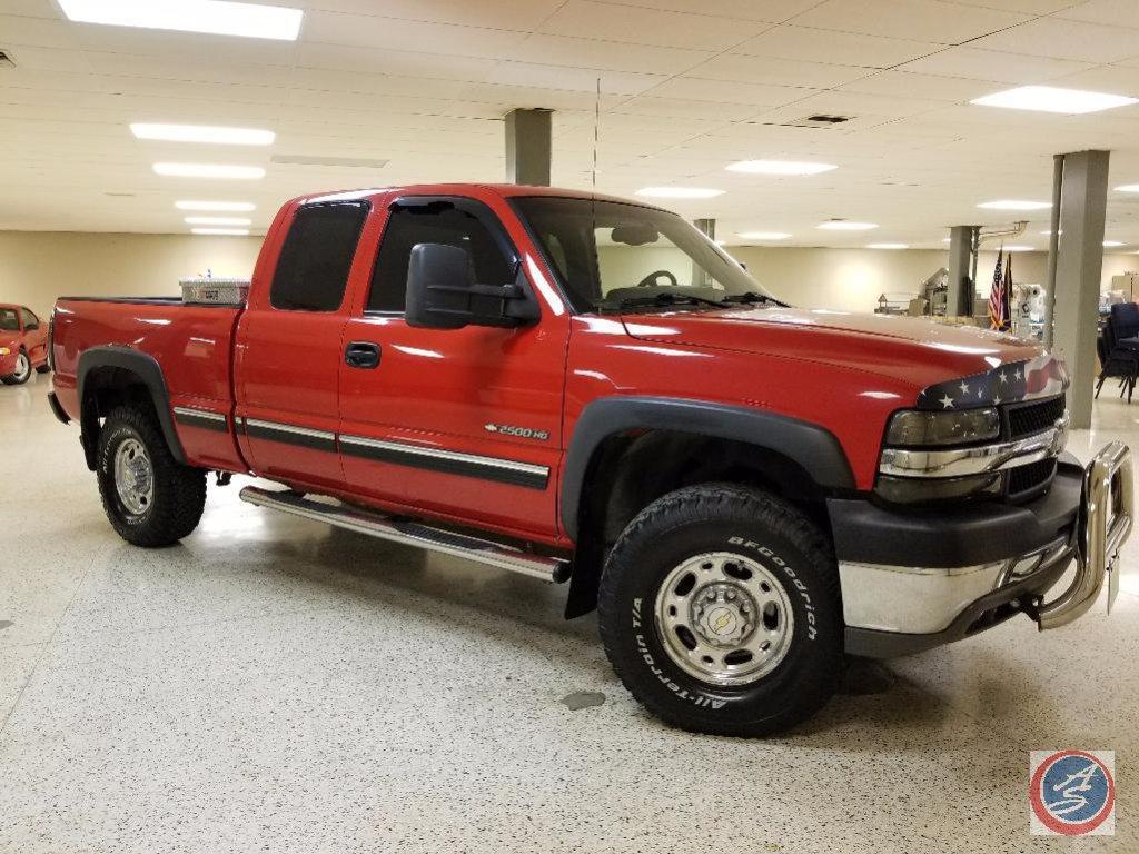 2002 Chevrolet Silverado Pickup Truck, VIN # 1GCHK29U12Z192123