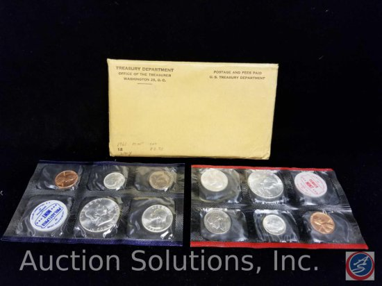 United States Proof set 1961-12 coins