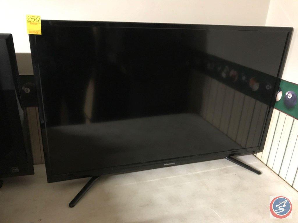 Hisense 40 inch LED LCD TV w/remote (Model # 40H3E)