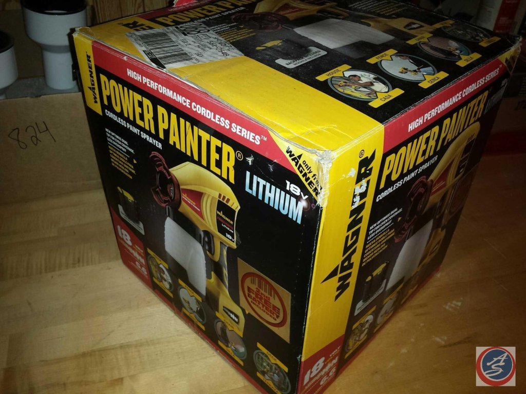 Wagner Power Painter 18V Cordless paint Sprayer {NEW in BOX}
