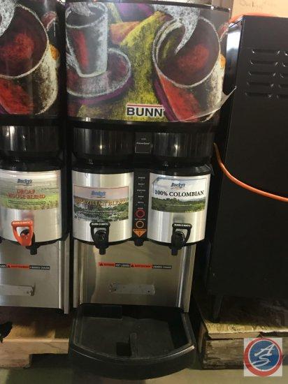 Bunn 2-Carafe Coffee Brewer, Model #LCA-2 w/ Fan, PN:34400.0301