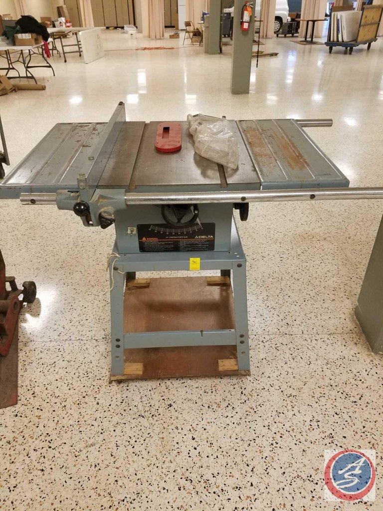"Delta 10"" contractor's saw (model #62-042)"