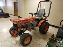 Kubota B7100HST Tractor - 1282.1 hrs. Model
